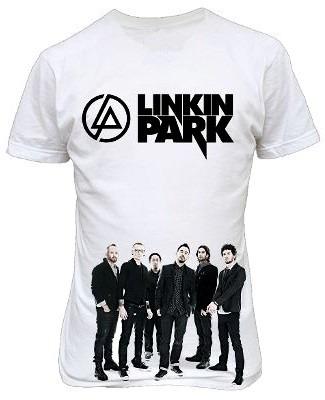 camisa bandas- linkin park