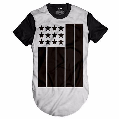 Camisa Bandeira Oversized Long Swag Kings Last Sneakers Hbo - R  49 ... 274afe69723
