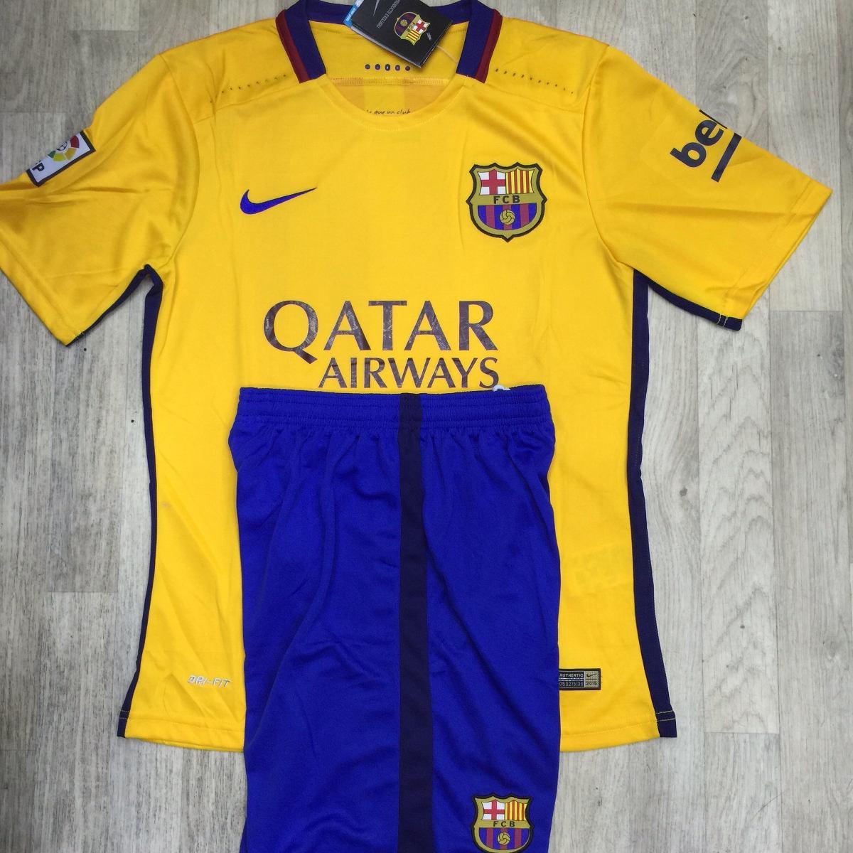 camisa barça amarelo com shorts. Carregando zoom. 14fd4228f9e80