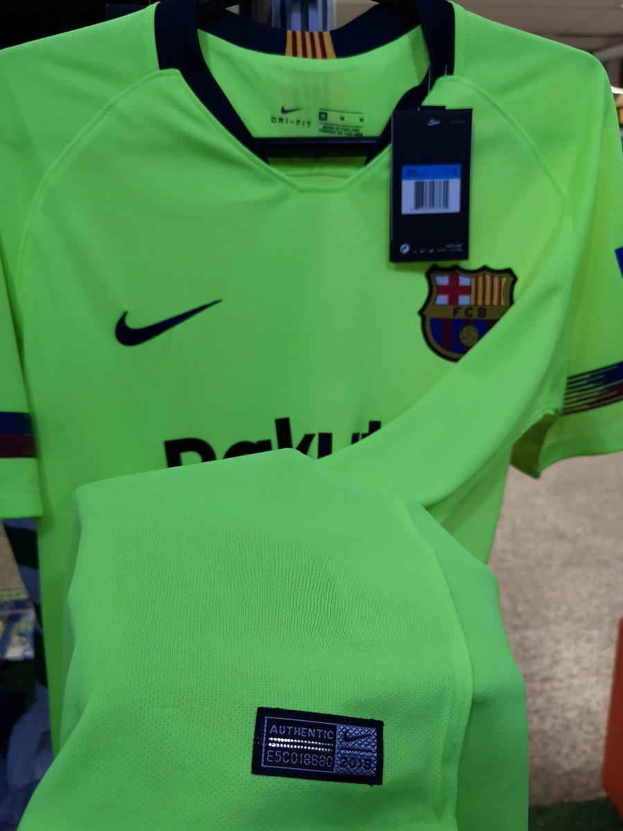 f554b8d103 Camisa Barça-esp Away 18 19 Novas A Pronta Entrega - R  135