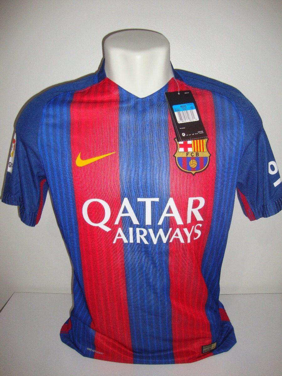 Camisa Barcelona 16-17 Versão Jogador Player Pronta-entrega! - R ... 935d6fb110b02