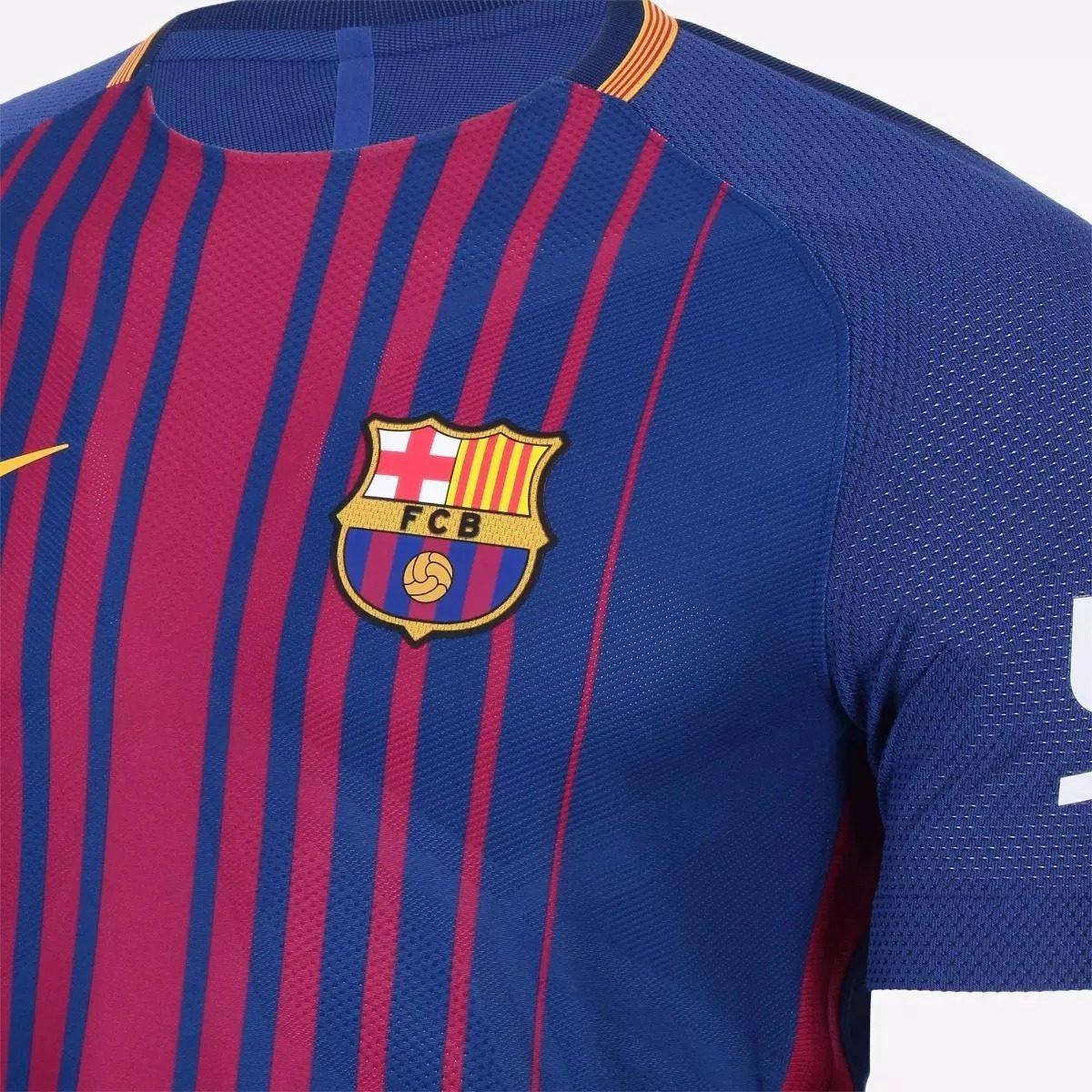 camisa barcelona 17 18 messi 10 jogador promoção relâmpago. Carregando zoom. d9a76a9562886