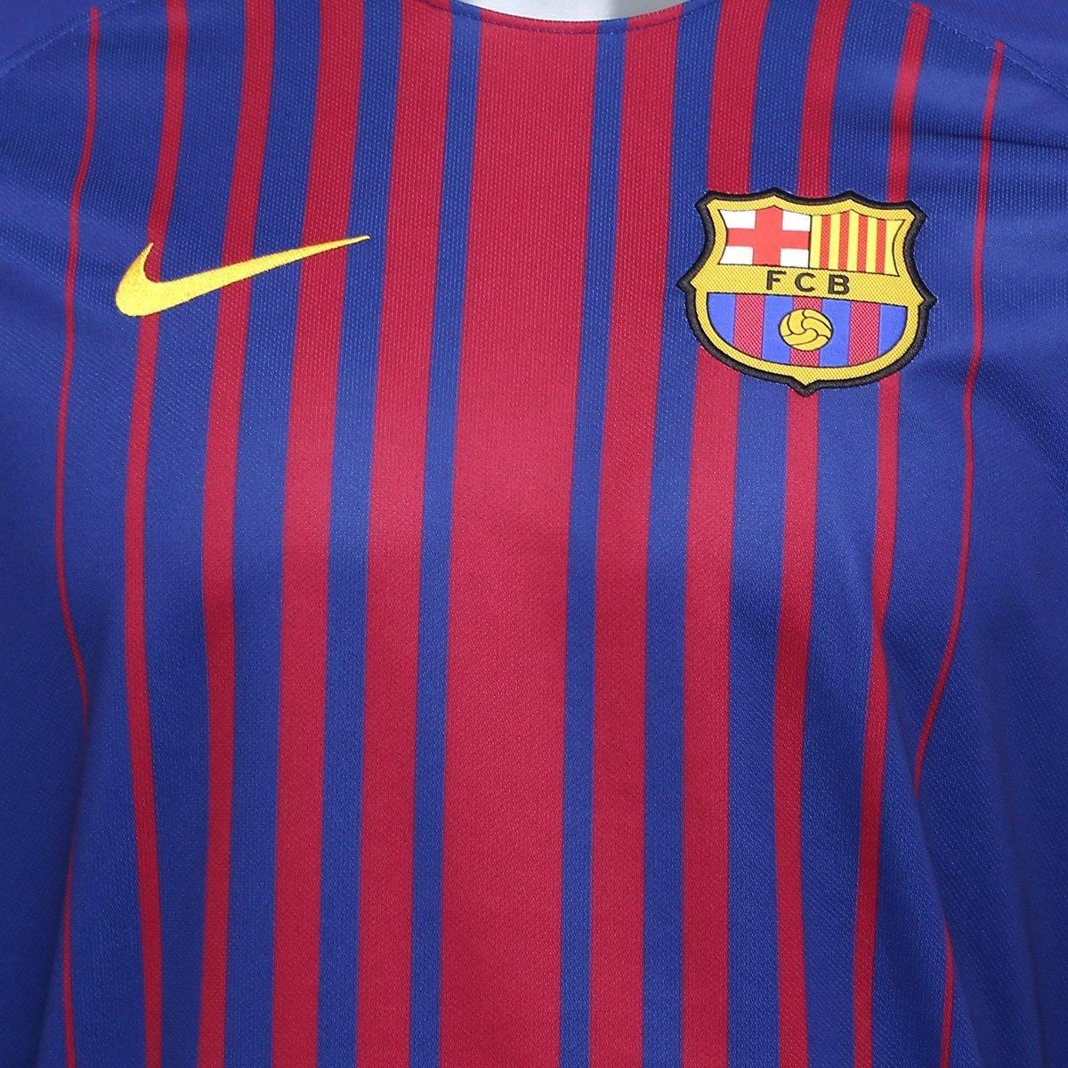 b4eb21dfecc66 camisa barcelona 17 18 messi 10 torcedor promoção relâmpago. Carregando  zoom.