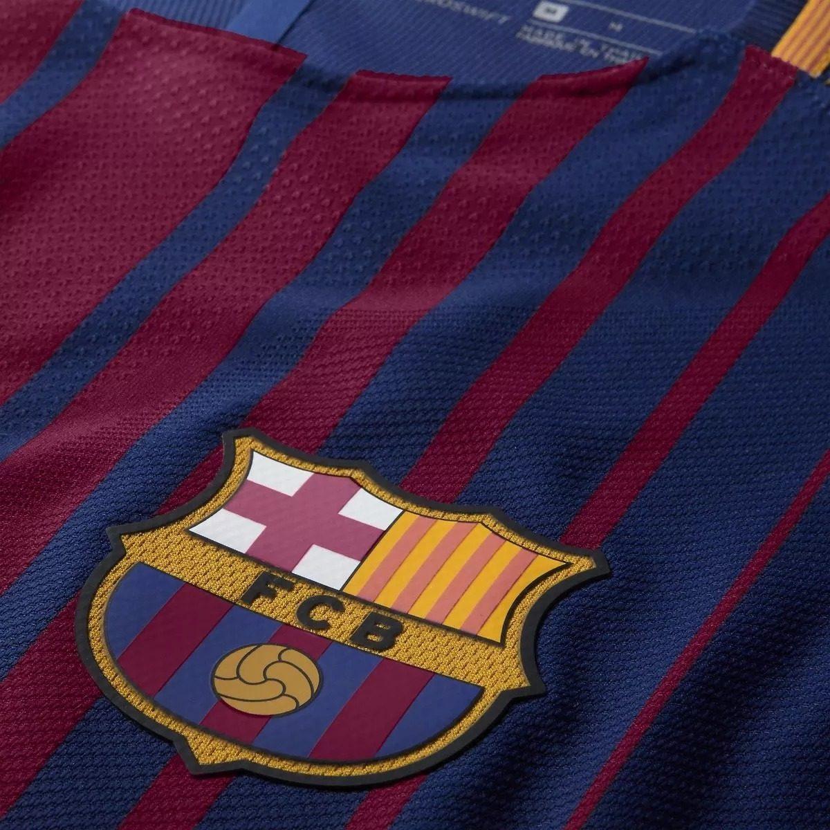 Camisa Barcelona 17 18 S n° Jogador Promoção Relâmpago - R  129 179a9e344c9bf