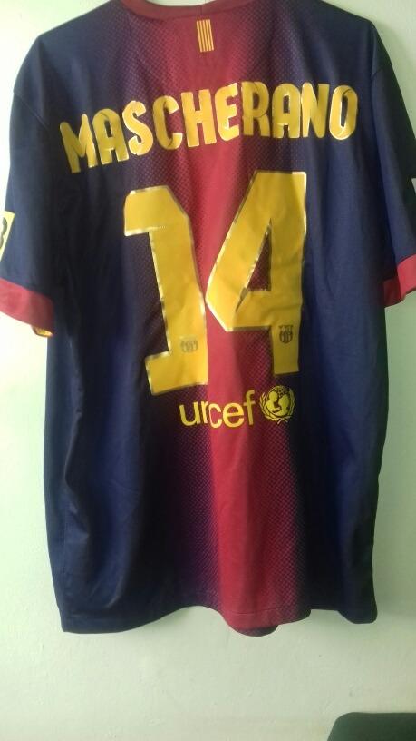 a5fea8316c8f5 camisa barcelona 2012 mascherano pacht lfp tv 3. Carregando zoom.