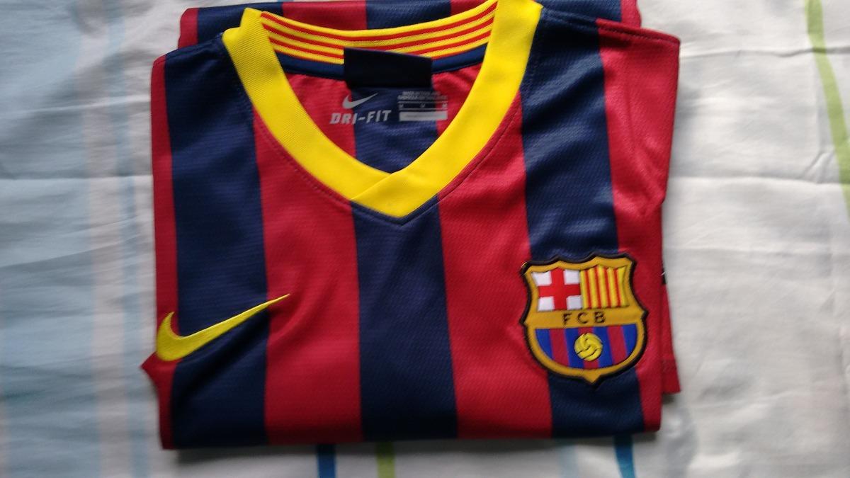 106725d021 camisa barcelona 2013 messi tamanho m. Carregando zoom.