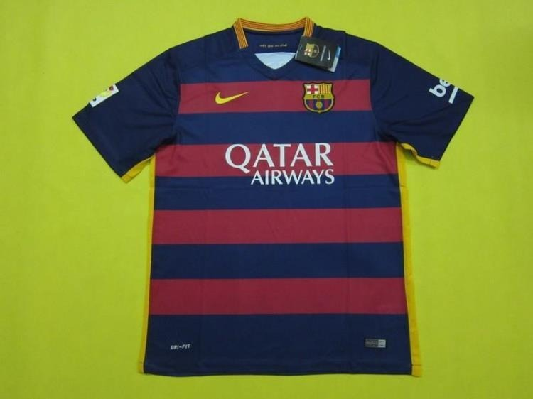 bdc4a514bdd2d Camisa Barcelona 2015 Original Nike - R  249