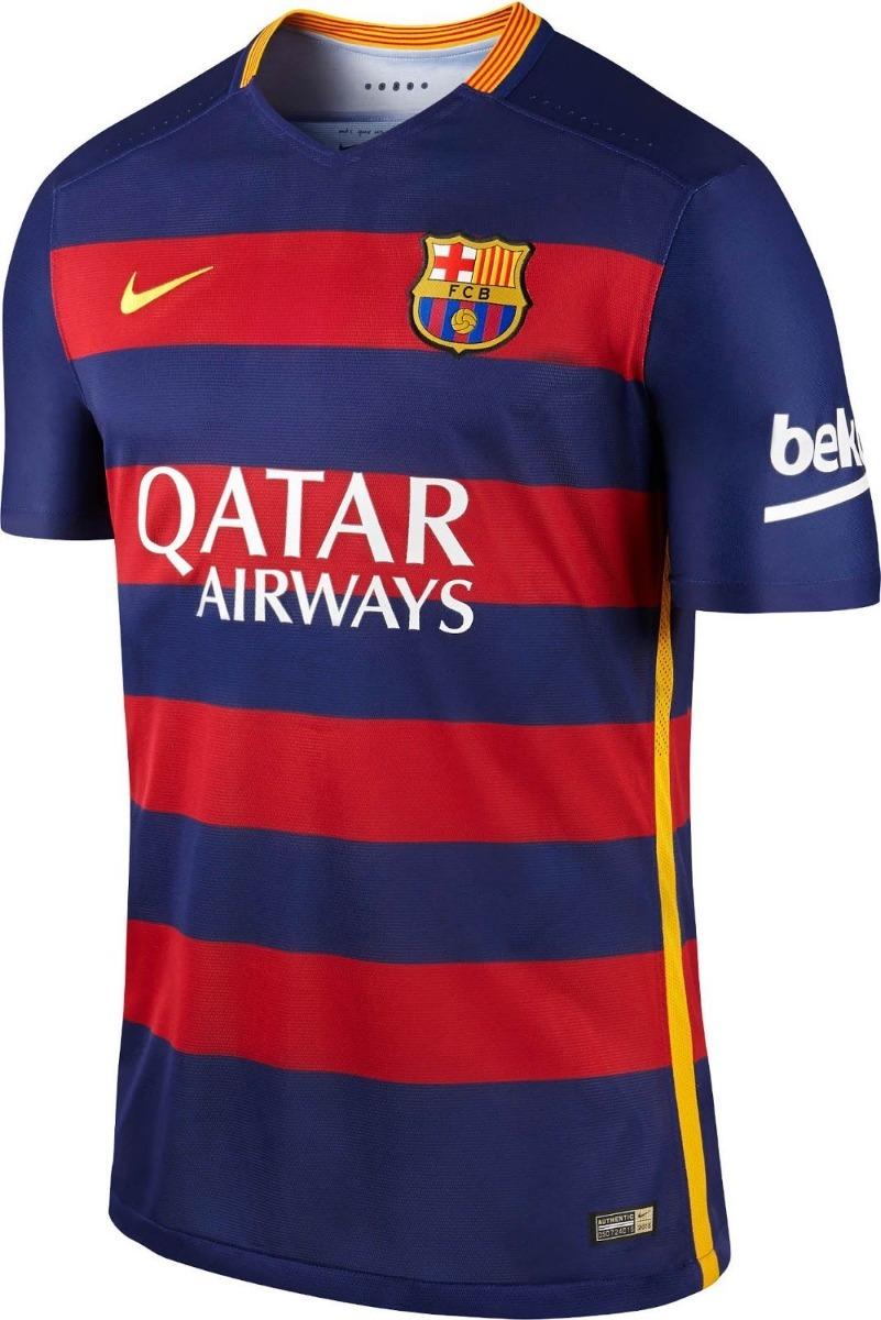 camisa barcelona 2015 original nike. Carregando zoom. 235f6a7651c3b