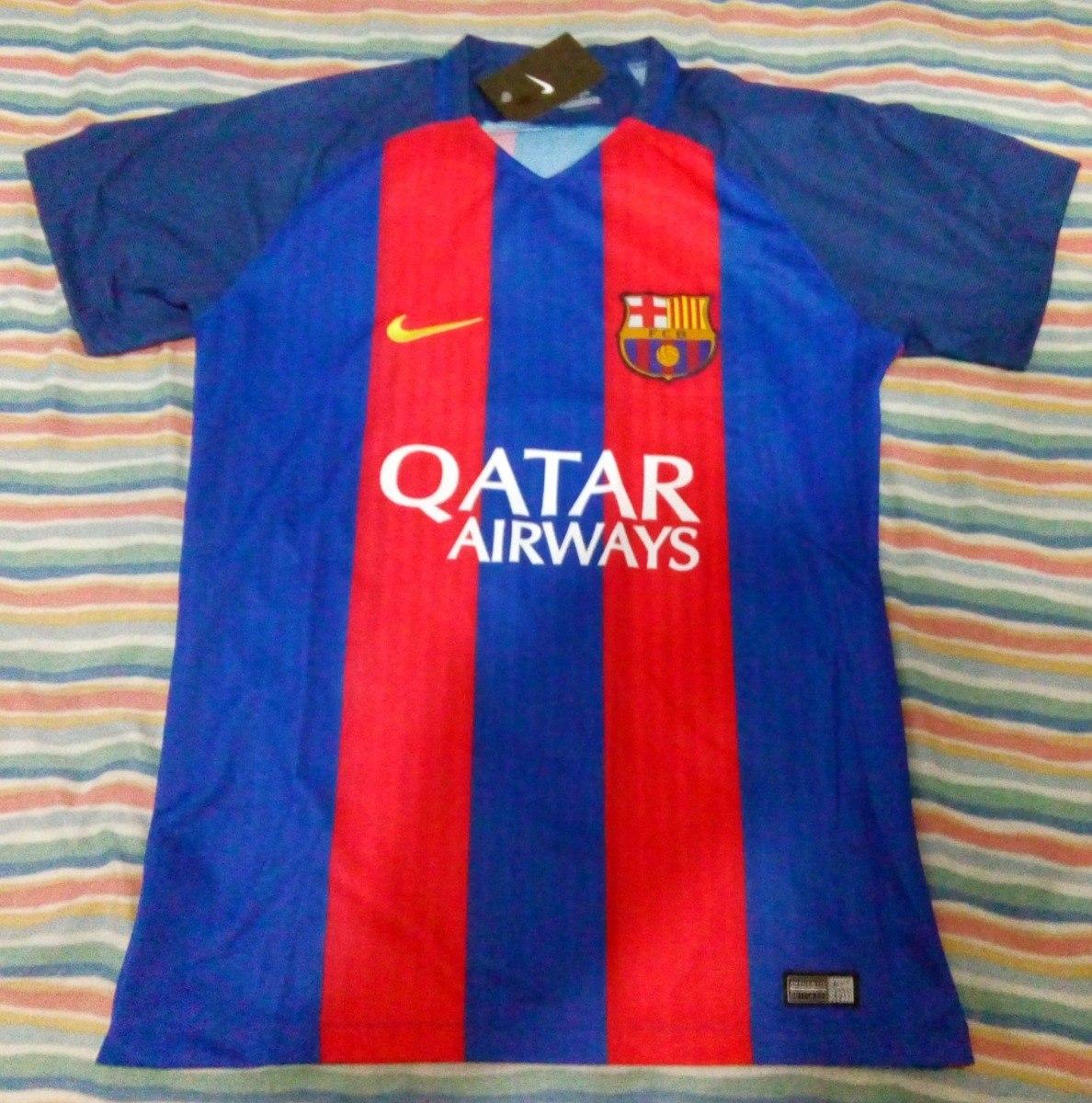 camisa barcelona 2016  17 supporter torcedor. Carregando zoom. 9a67b68a39b0a