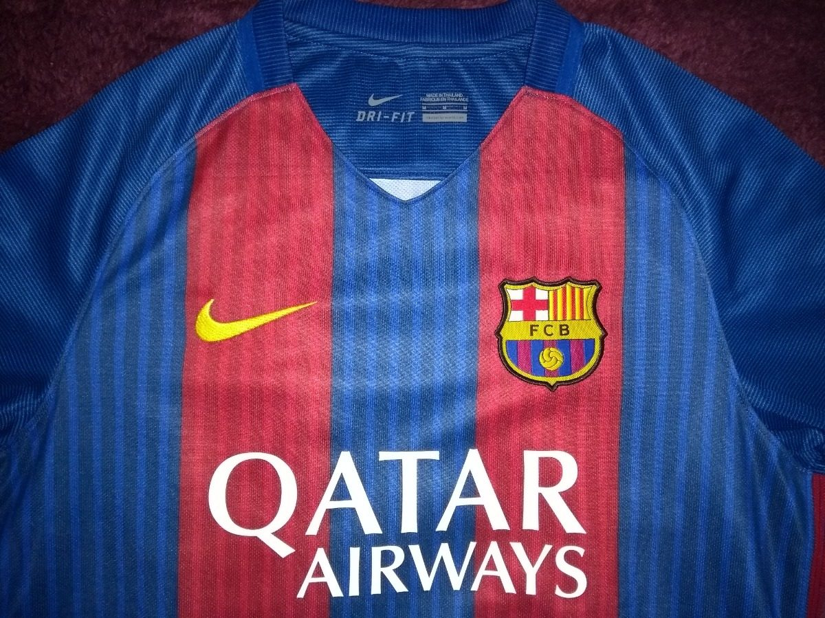 camisa barcelona 2016 2017 nike. Carregando zoom. 56a1a9b53b14a