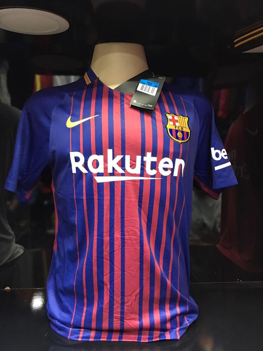 Camisa Barcelona 2017 Original 0d34f4901109e