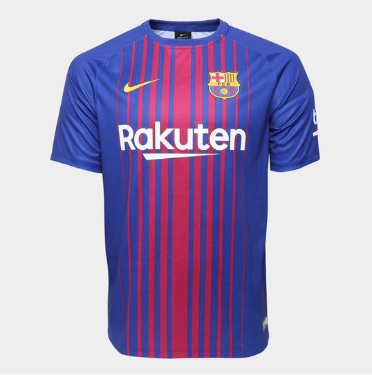 d9b83f33efa38 Camisa Barcelona 2017 2018 Original - R  189