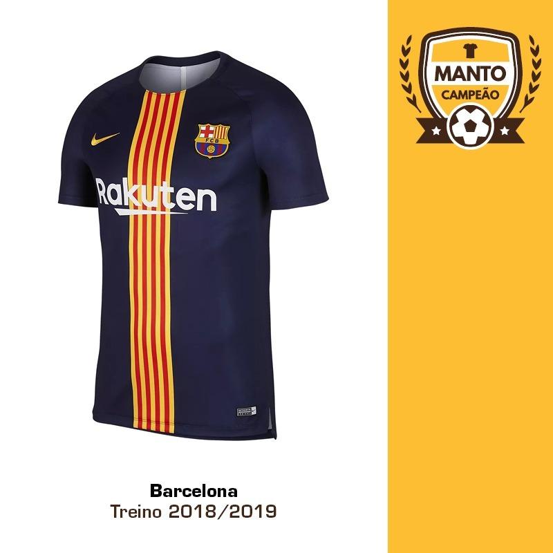 8d1bc9fb7b camisa barcelona 2018 2019 treino preto messi suárez arthur. Carregando zoom .