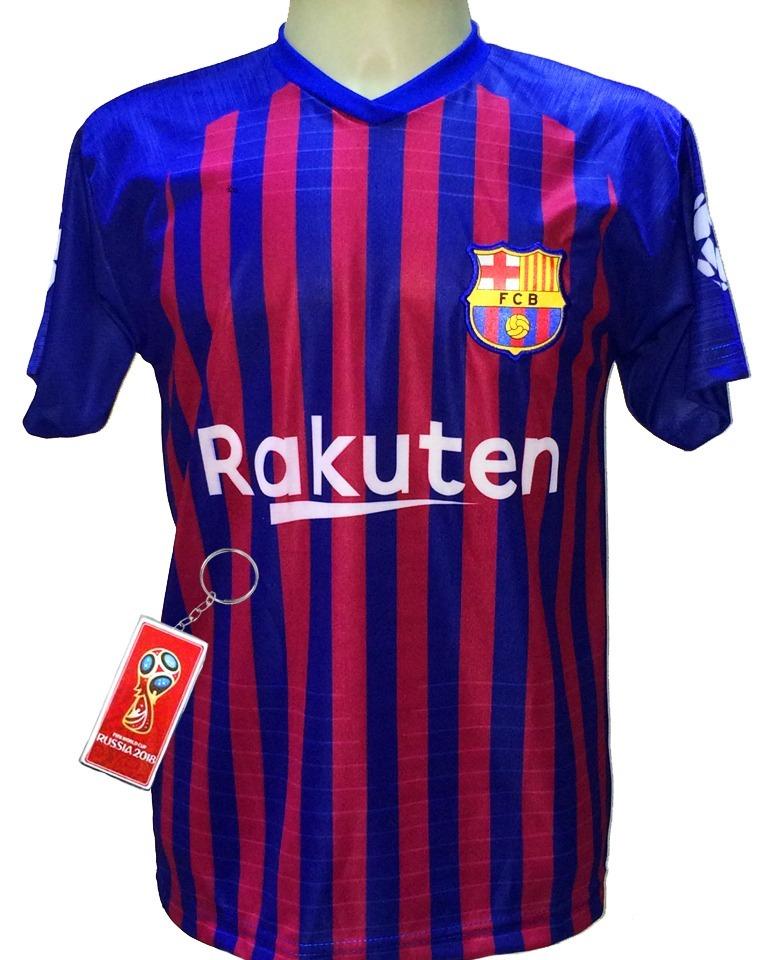 3043bc2b2 camisa barcelona 2019 listrada vermelho azul. Carregando zoom.