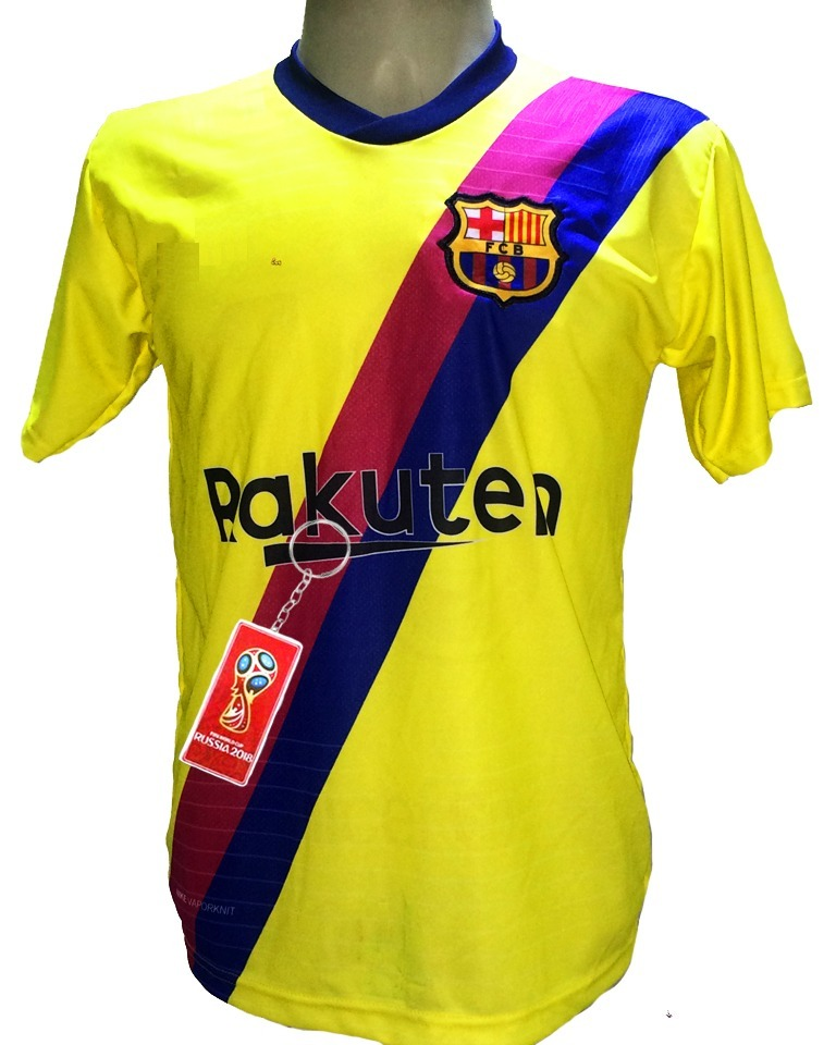 camisa barcelona amarela nova 2019 messi. Carregando zoom. dbff400d15b99