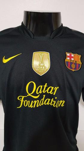 camisa barcelona away 11-12 messi 10 champions importada