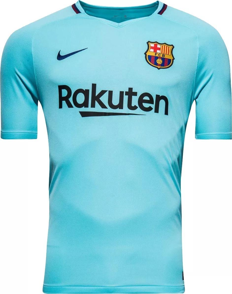 ecb4f689d7 camisa barcelona away 17 18 s n° torcedor nike masculina. Carregando zoom.