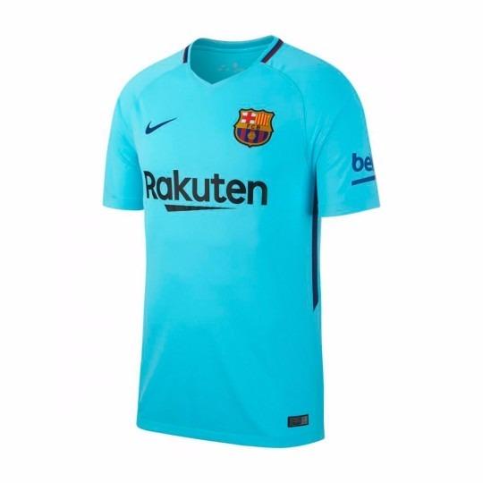 30786e8894ad0 Camisa Barcelona Away 17 18 S nº Torcedor Nike Masculina - R  129