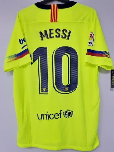 ed550b037d Camisa Barcelona Away Messi   10 - Temporada 2018-2019 - R  134