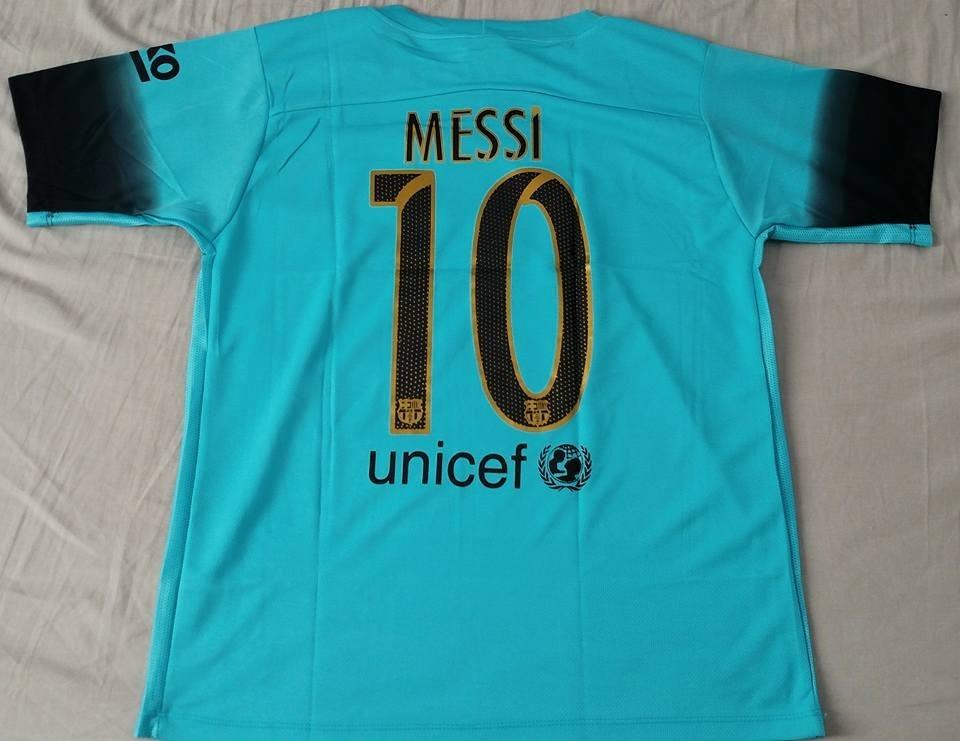 camisa barcelona azul temporada 15 16. Carregando zoom. 80ecdd3ca2125