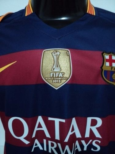 d8c5849d56cbe Camisa Barcelona - Barça - 2015 - Neymar Jr + Patch Original - R ...