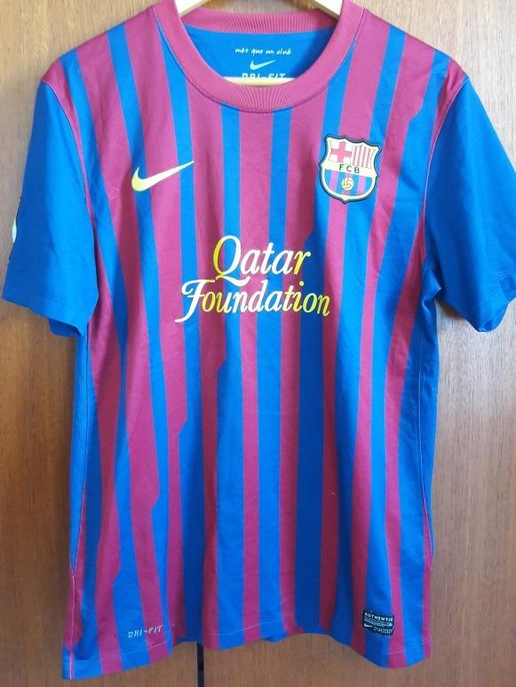 f024e5cdc6fc5 Camisa Barcelona Fc 2012 2013 Nike M - R  125