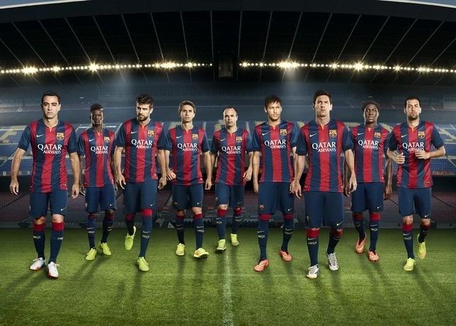 2048c81ec0338 Camisa Barcelona Fc Local 2014-2015 - Bs. 120