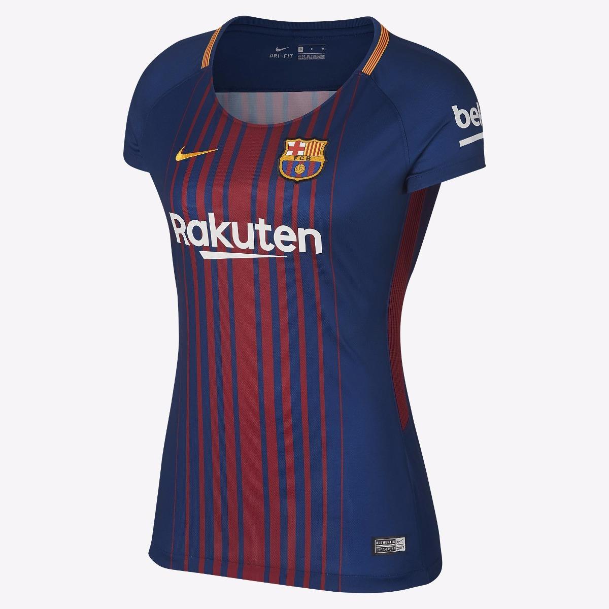 Camisa Barcelona Feminina I 2018 - Frete Grátis - R  294 544aafa5898a2