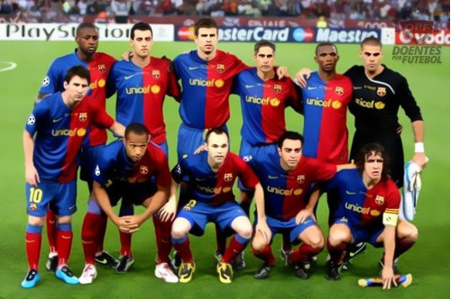 camisa barcelona final champions league 2009 a. iniesta 8