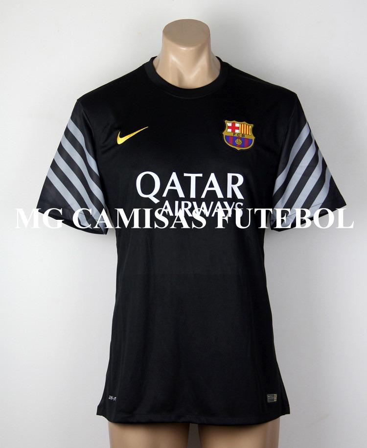 camisa barcelona goleiro 2015 2016 - frete e personalizacao. Carregando  zoom. 1c4b2b22e67df
