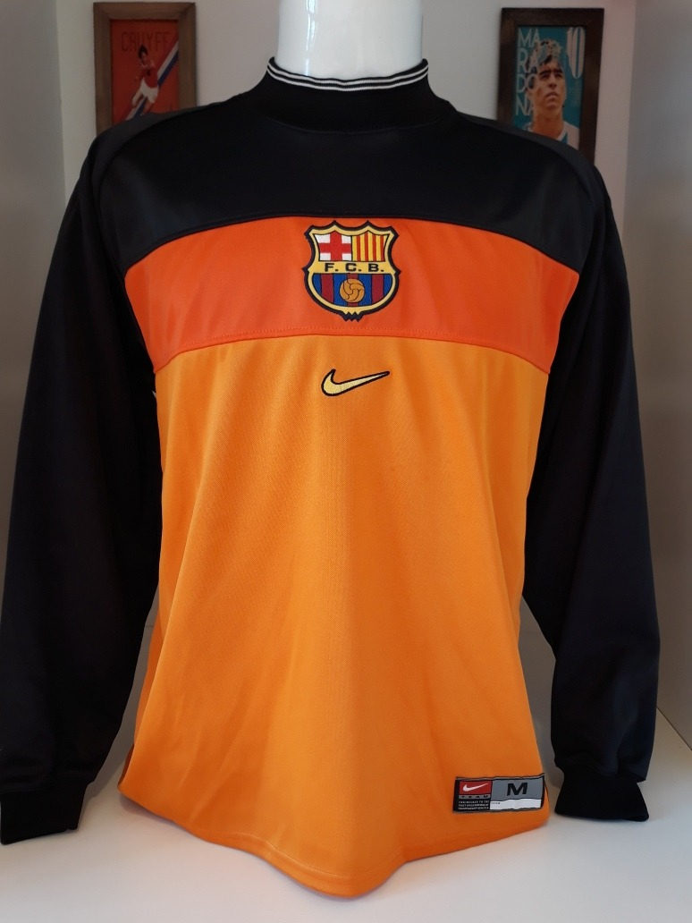 d5667d3fa6a08 Camisa Barcelona Goleiro Nike - R  190