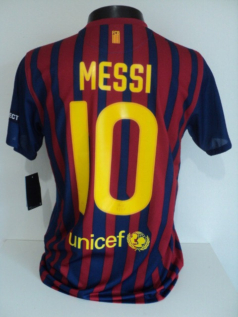 Camisa Barcelona Home 11-12 Messi 10 Patch Champions Imp - R  149 b6a6885d57edb