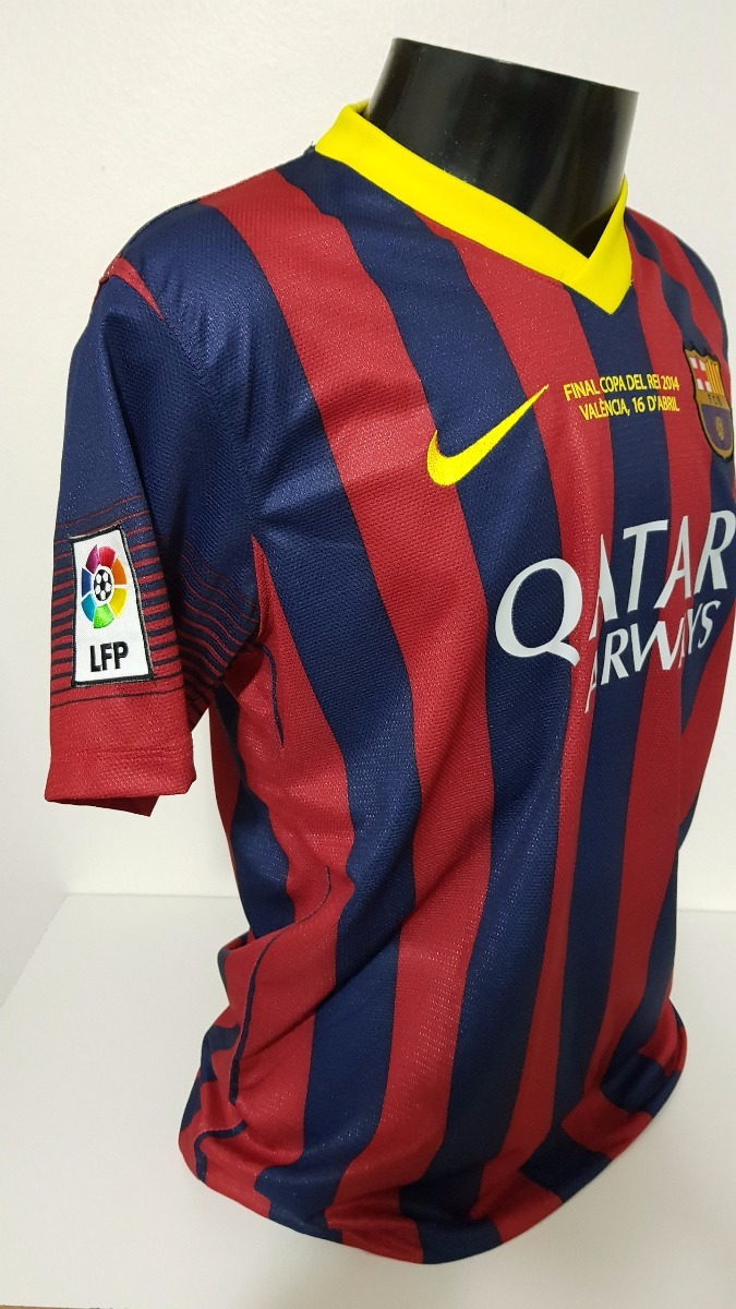 0c85152233 camisa barcelona home 13-14 messi 10 supercopa importada. Carregando zoom.