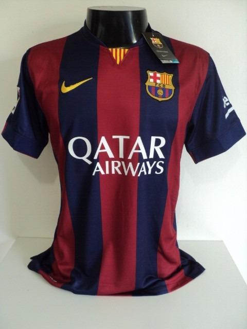 16fd68cc8e4db Camisa Barcelona Home 14-15 Neymar Jr 11 Versão Jogador Imp - R  180 ...