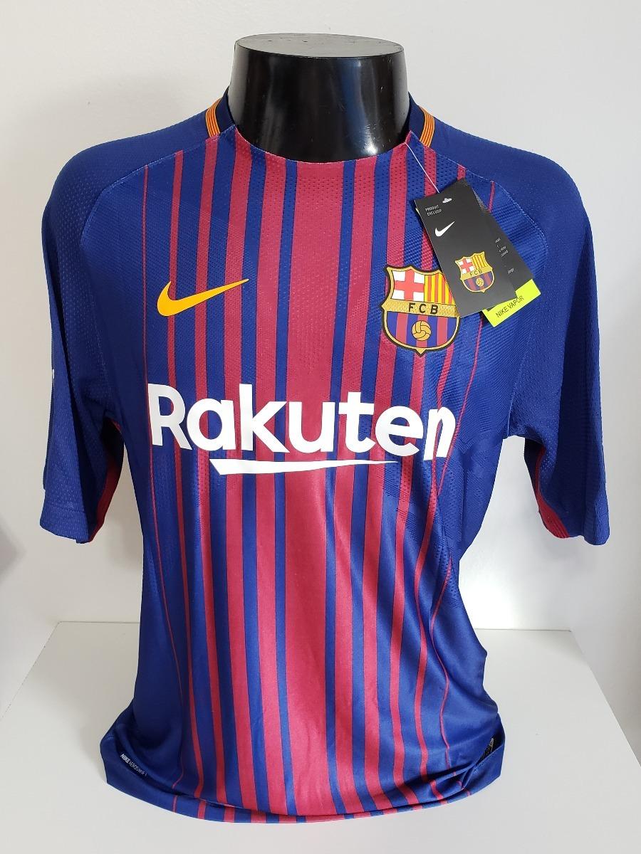 d229a9b2ff camisa barcelona home 17-18 messi 10 champions importada. Carregando zoom.