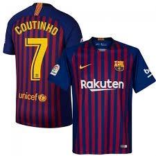 58345deb6f01f Camisa Barcelona Home 18 19 Nike(original) Coutinho N 7 - R  149