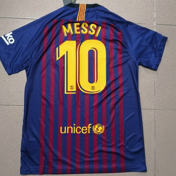 872d32a3a3 Camisa Barcelona Home 2018 S n° Torcedor Nike Masculina - Az - R ...