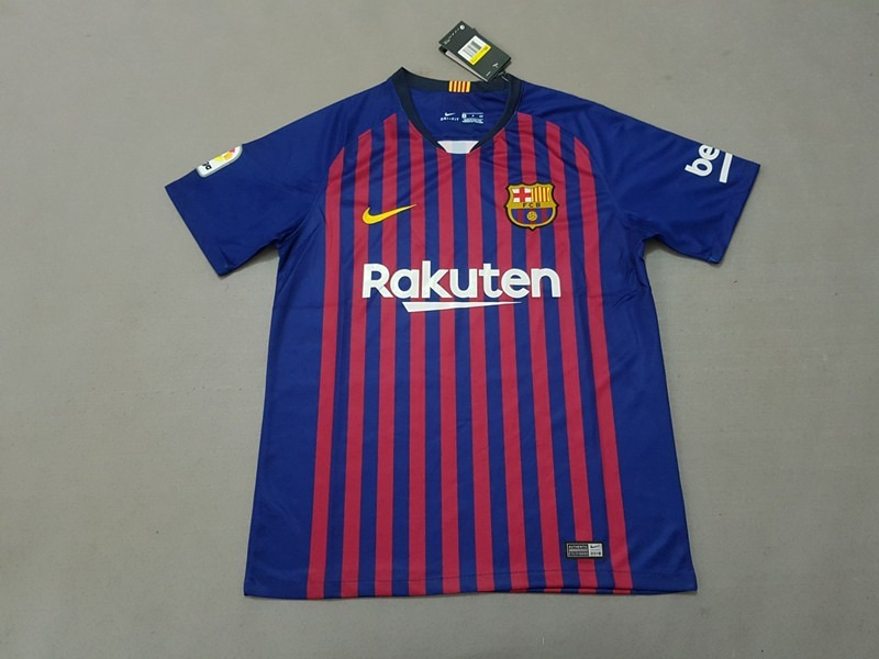 camisa barcelona home 2018 s n° torcedor nike masculina - az. Carregando  zoom. 26e02bbb36268
