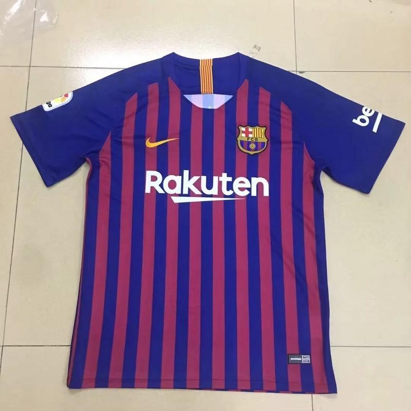 camisa barcelona home e away 2018 19. Carregando zoom. 3625edc73c85e