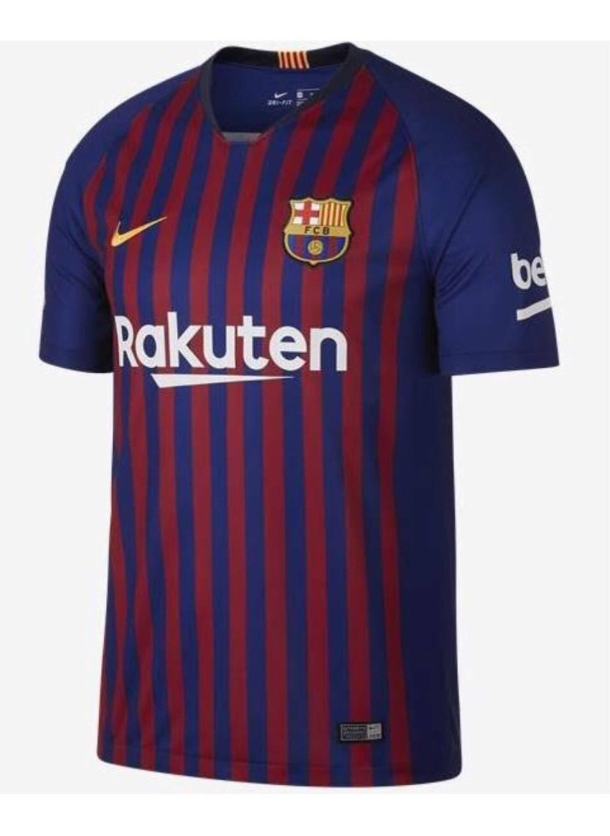 5510199c27 Camisa Barcelona Home Nike 18/19 (original)coutinho 7 - R$ 120,00 em ...