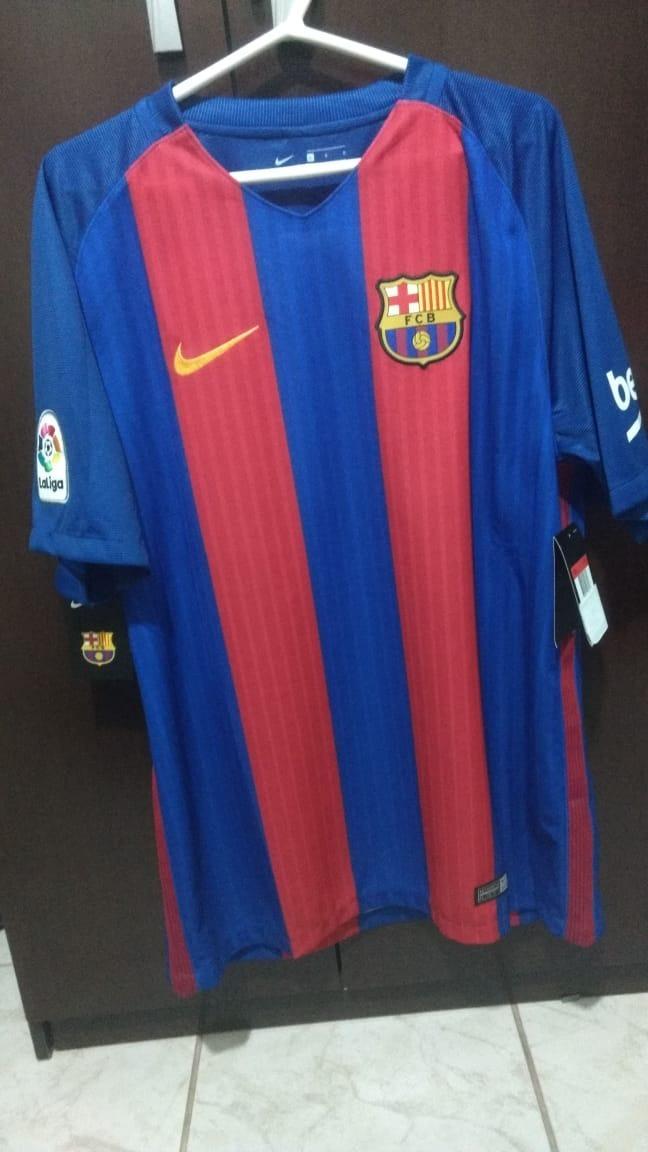 9ac2573b3a588 camisa barcelona i 16 17 nike - masculina. Carregando zoom.