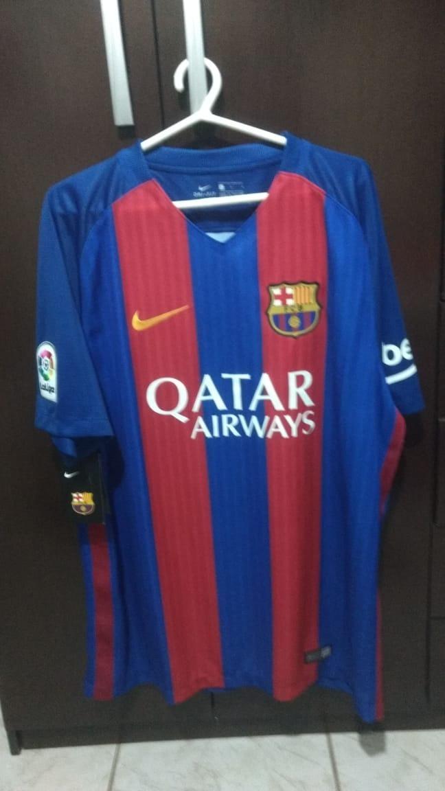 camisa barcelona i 16 17 nike - masculina home. Carregando zoom. a59ff94783bbf