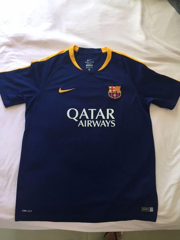 c38c71b9836ce Camisa Barcelona Infantil - 13 A 15 Anos - Original - R  50