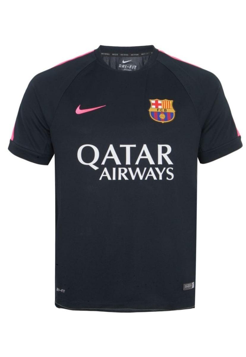 camisa barcelona infantil nike uniforme 2 2016 2017 original. Carregando  zoom. ca261c7cc9af4