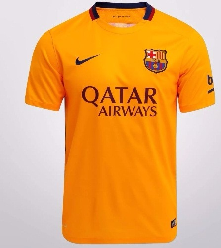 Camisa Barcelona Infantil Uniforme 2 15 16 Oficial Nike - R  169 f90fcea530504