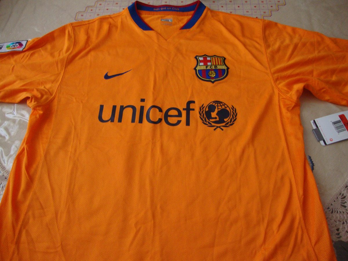 Camisa - Barcelona - Laranja - Tam. G. - Authentic - R  210 e83ebb341d2e1
