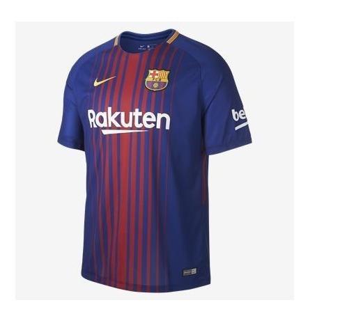 fa30354f28 Camisa Nike Barcelona Iii Vapor 2017 2018 Jogador Masculina - R  176 ...