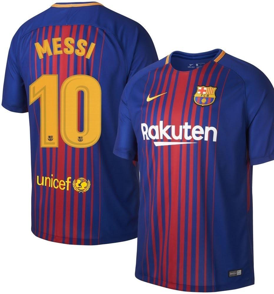 ca8ddc382dc37 Camisa Barcelona Messi 2017 2018 Grenal - R  59
