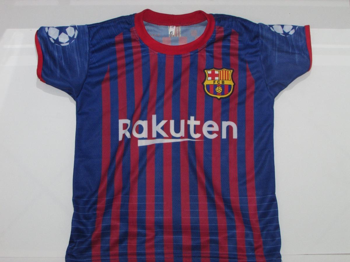 camisa barcelona messi infantil com calção torcedor. Carregando zoom. aec4813d39d4f