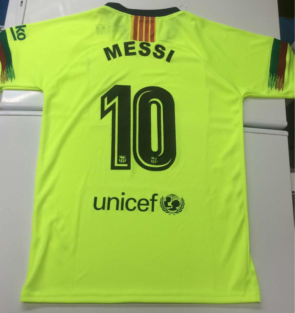 f45c0bd776f30 Camisa Barcelona Messi Nueva 2018 - 2019 Mag. Larga-corta - Bs ...